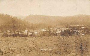 LP13 De Borgia Montana   Postcard RPPC Real Photo