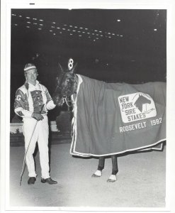 LONG ISLAND, New York; Roosevelt Raceway, BARBET KASH wins 1982