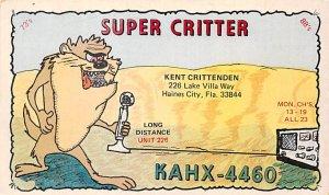 KKAHX4460 Haines City, FL, USA QSL Unused