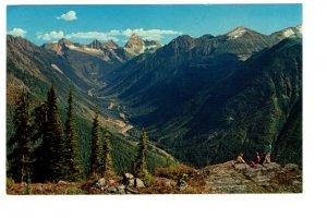 Rogers Pass, Glacier National Park, British Columbia,