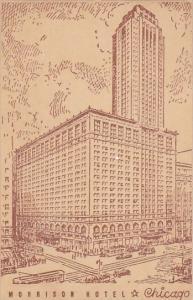Illinois Chicago Morrison Hotel 1944