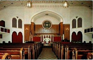 First Brethren Church Long Beach California Postcard 1959