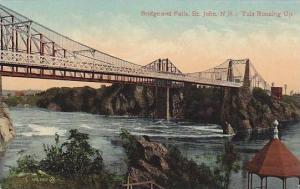 Bridge & Falls, St. John, New Brunswick, Canada, 1900-1910s
