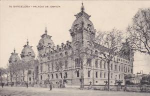 BARCELONA, Cataluna, Spain, 1900-1910´s; Palacio De Justicia