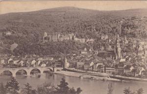 HEIDELBERG, Vom Philosophenweg gesehen, Baden-Wurttemberg, Germany,  00-10s