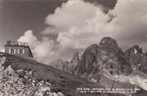 RP, Rifugio Col Di Rodella M. 2486, Verso Il Gruppo Di Sassolungo m. 3178, It...