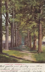 WOODBURY , New Jersey , 1901-1907 ; Lovers Lane