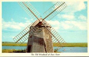 Massachusetts Cape Cod Old Windmill At Bass River