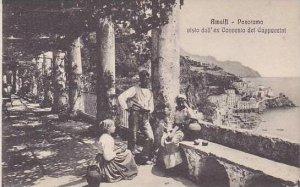 Italy Amalfi Panorama visto dell'ex Convento dei Cappuccini