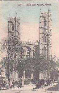 Notre Dame Church, Montreal, Quebec, Canada, 1900-1910s