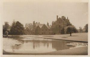 Fermyn Woods Hall Northamptonshire River Real Photo Postcard