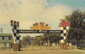 Main Gate, Indianapolis Motor Speedway Auto Racing, Race Car Indianapolis, In...