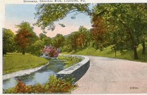 KY - Louisville, Driveway, Cherokee Park