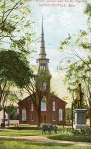 MA - Newburyport, Brown Square & North Church