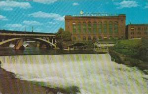 Washington Spokane Lower Falls Spokane River