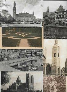 Netherlands Amsterdam Maastricht Zeist Texel Postcard Lot of 75 With RPPC -01.06