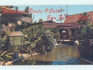 Pre-1980 RESTAURANT San Pedro Near Torrance & Long Beach & Los Angeles CA G8822