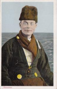 Netherlands Volendam Local Man In Traditional Costume