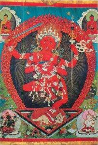 Mongolia Guha-Zanyana-Dagi Buddhism Art Museum Ulan Bator postcard