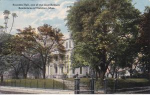 Stanton Hall, One Of The Anti Bellum, Residences Of Natchez, Mississippi, PU1916
