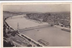 RP, View From St. Gerhard Mount, Budapest, Hungary, 1920-1940s