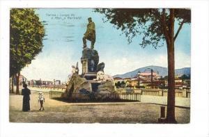Torino - Lungo Po e Mon. a Garibaldi, ITALY, PU-1927