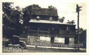 Old Spanish Inn - Real Photo Natchez MS Unused