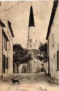 CPA ILE-de-RÉ - ARS-en-RÉ - Église d'Ars (480582)