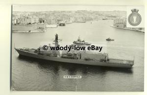 na1637 - Royal Navy Warship -  HMS Norfolk - photograph