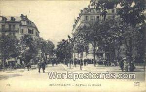 Aix-Les-Bains, France, Carte, Postcard La Place du Revard Aix-Les-Bains La Pl...