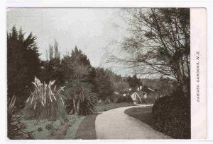 Oamaru Gardens North Otago New Zealand 1910c postcard