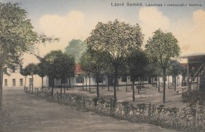 LAZNE SADSKA , Czech Republic , 00-10s ; Lazenska i restaurancni budova