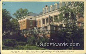 Mary Washington College - Fredericksburg, Virginia