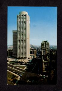 QC Le Chateau Champlain Hotel Montreal Quebec Canada Carte Postale Postcard