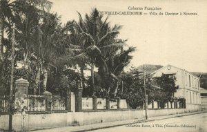 PC CPA NEW CALEDONIA, PACIFIC, VILLA DU DOCTEUR, NOUMÉA, Postcard (b19319)