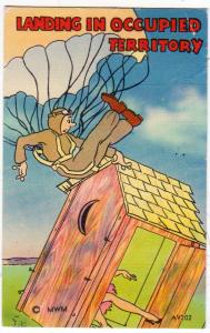 Parachute & Outhouse - Landing in Occupied Territory