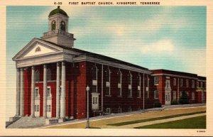 Tennessee Kingsport First Baptist Church