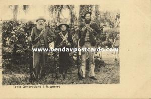 BOER WAR, Three War Generations (1899)