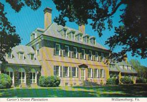 Virginia Williamsburg Carters Grove Plantation