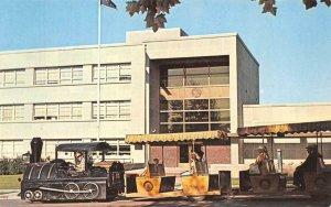 Last Chancer Train & Russell Gallery - Helena, Montana c1960s Vintage Postcard