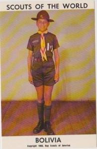 Boy Scouts of the World: Bolivia, 1968