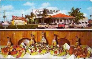 FL St Petersburg Louis Pappas Restaurant 1960