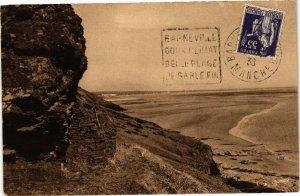 CPA CARTERET - Un coin de la Plage des Falaises (138156)