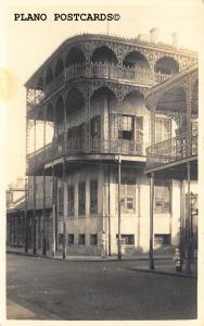 NEW ORLEANS, LOUISIANA HAREM HOUSE-ORLEANS & DAUPHINE RPPC REAL PHOTO POSTCARD