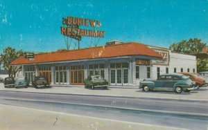 LAURENCE HARBOR , New Jersey , 1940-60s; Burlew's Restaurant, State Hwy. 35