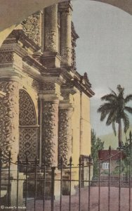 ANTIGUA, Guatemala, 1930-40s; Facade, Church of La Merced