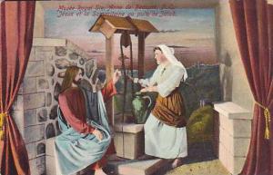 Ste. Anne de Beaupre , Quebec , Canada , 1910s ; Jesus et la Samaritaine, Mus...