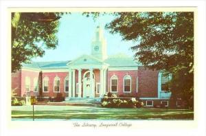 The Library, Longwood College, Farmville, Virginia, PU-1966