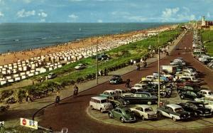 netherlands, KATWIJK aan Zee, Zuid-Boulevard, Cars VW V.W. Beetle (1960s)