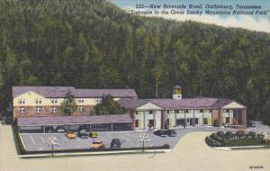 Tennessee Gatlinburg New Riverside Hotel Curteich
